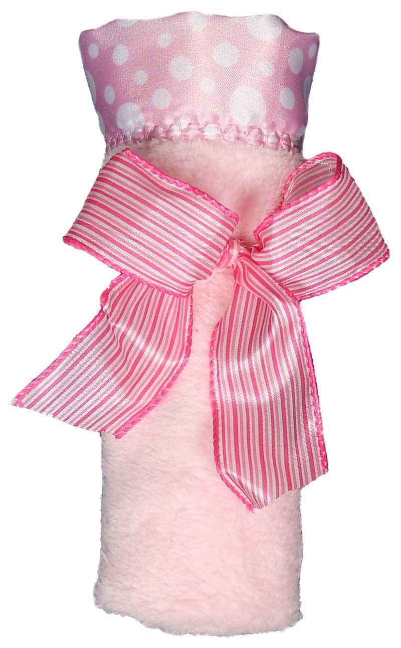 Pink Flurr Girl Blankie