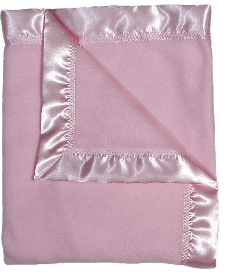 Pink Fleece Girl Receiving Blanket