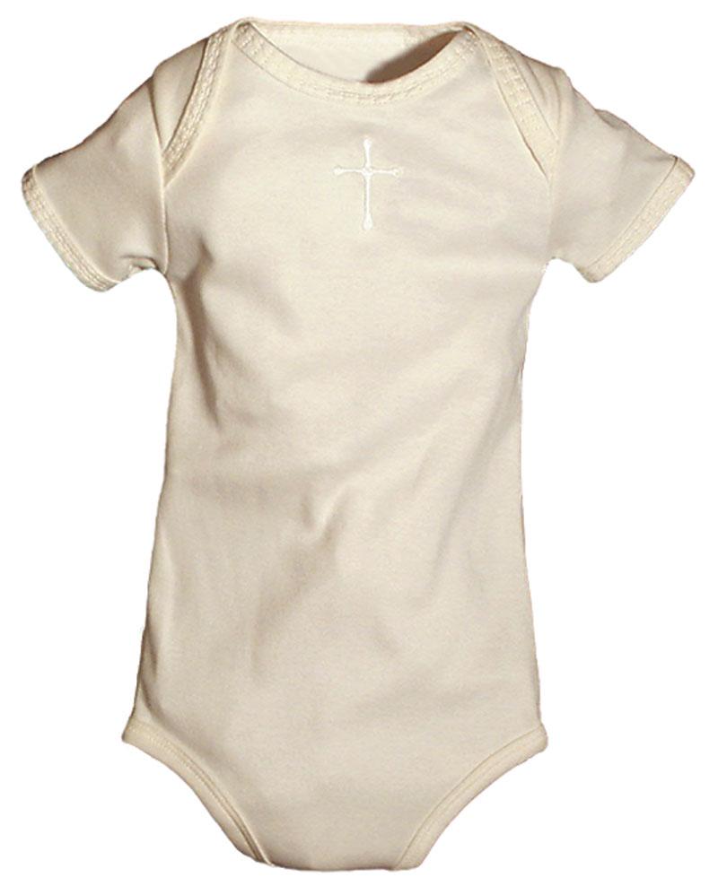 Cross Ivory Unisex Body Suit