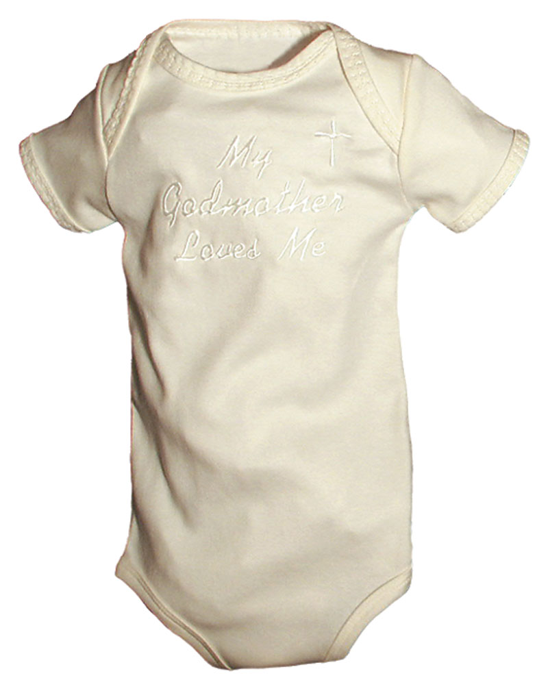 """""""My Godmother loves me"""" Unisex Body Suit"""