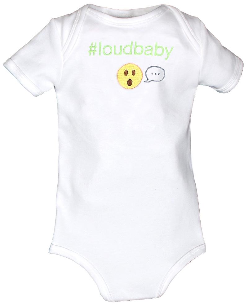 #Loudbaby Body Suit
