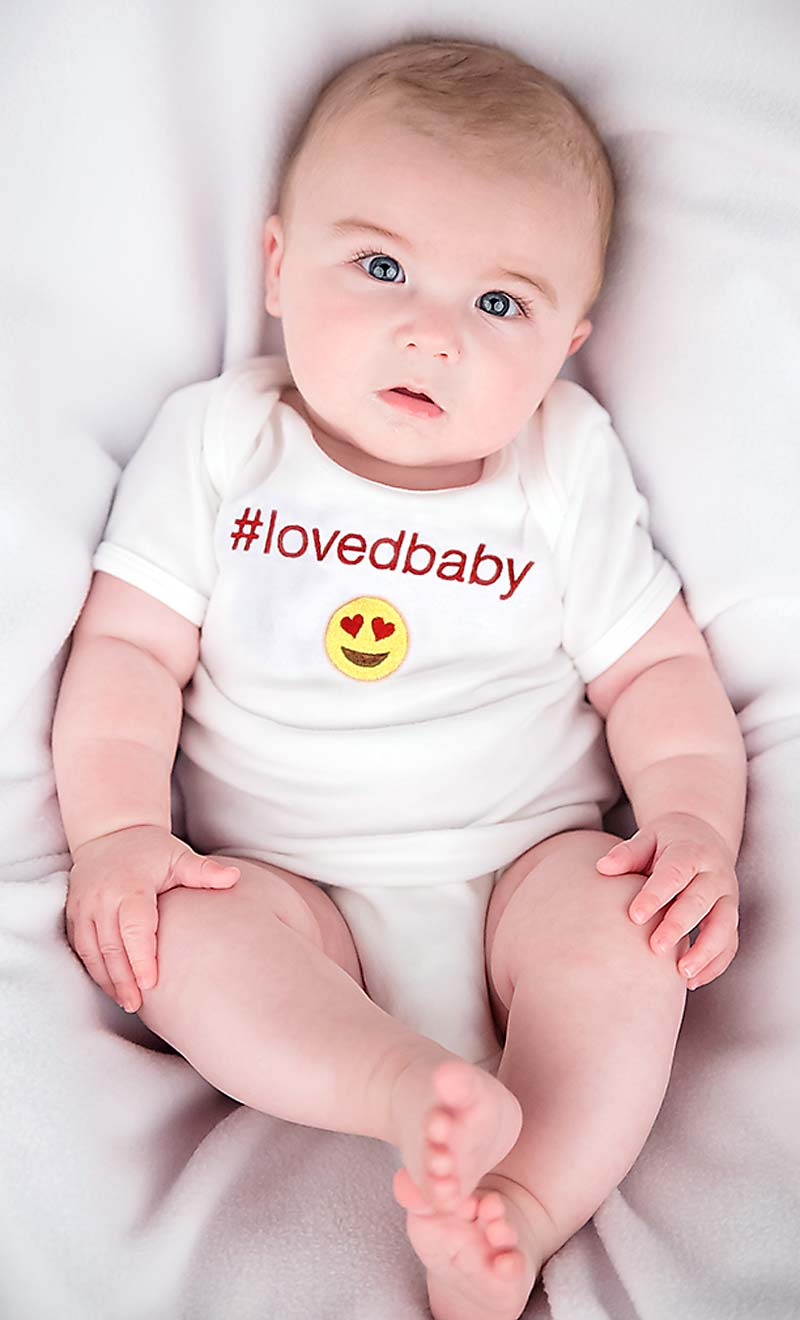 #Lovedbaby Body Suit