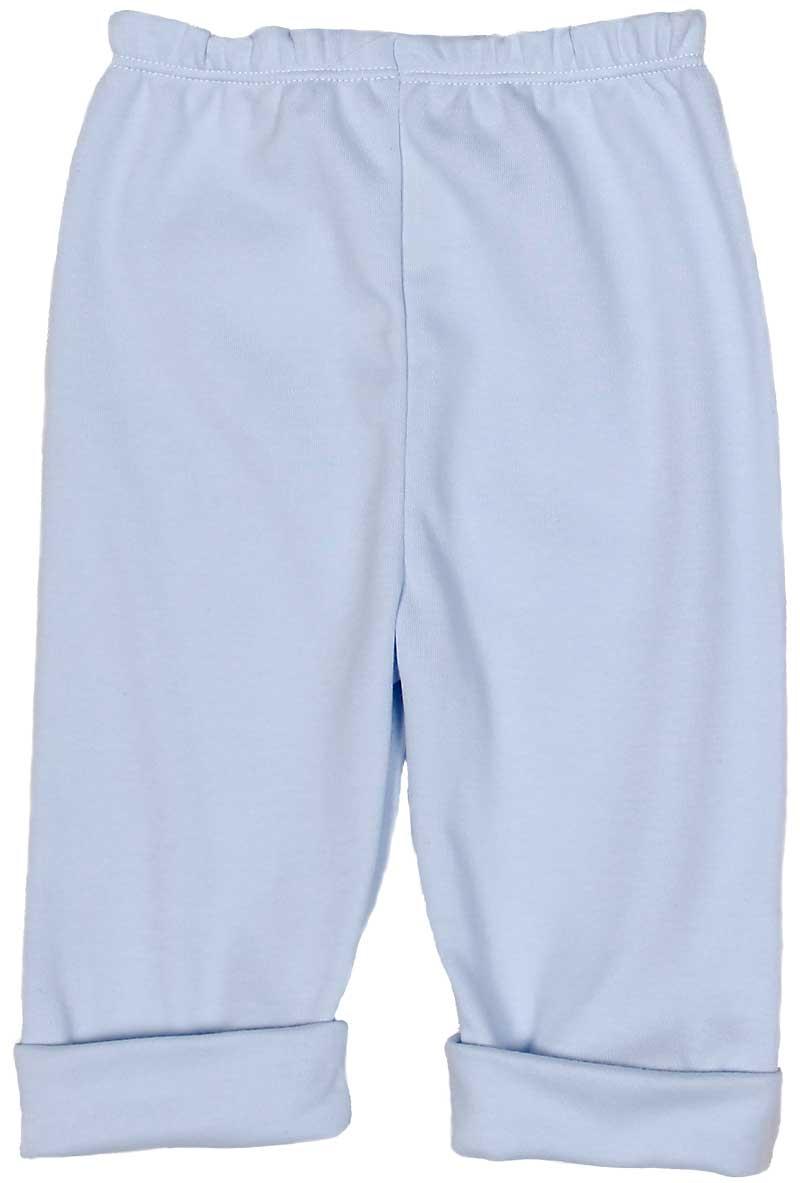 Blue Cotton Boy Pant