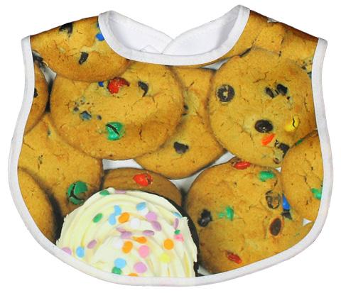 Warm Cookies Bib
