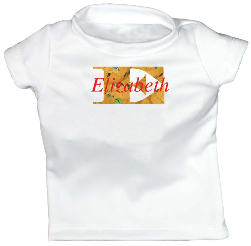 Warm Cookies Personalized T-Shirt