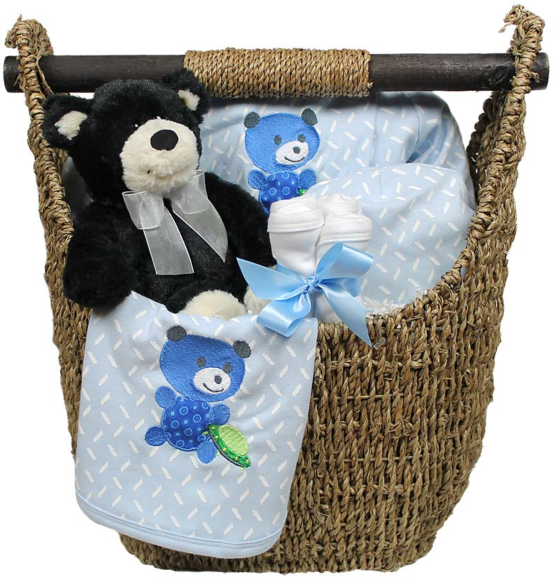 Welcome Home Baby Medium Boy Gift Set