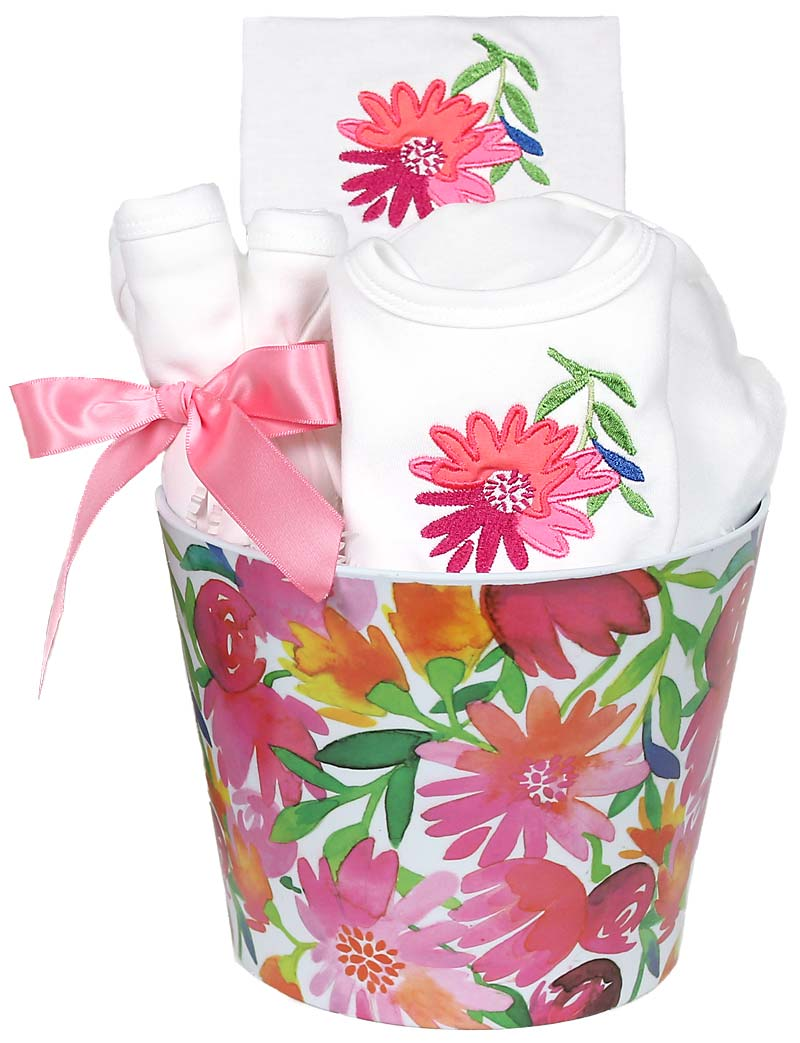 Blooming Flowers Pink Accessory Girl Gift Set