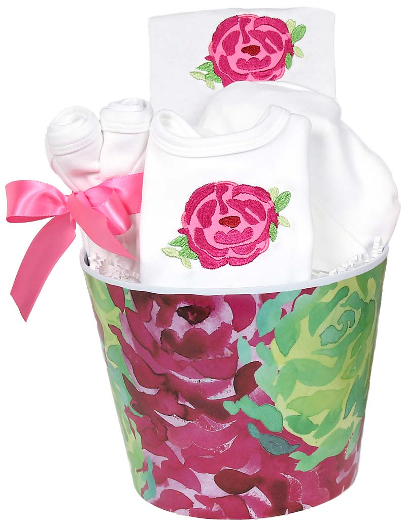 Blooming Flowers Rose Accessory Girl Gift Set