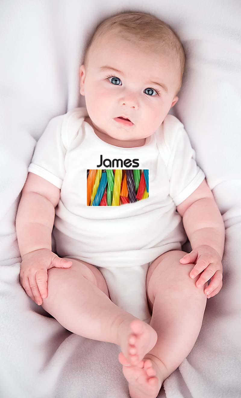 Sugar Rush Personalized Body Suit