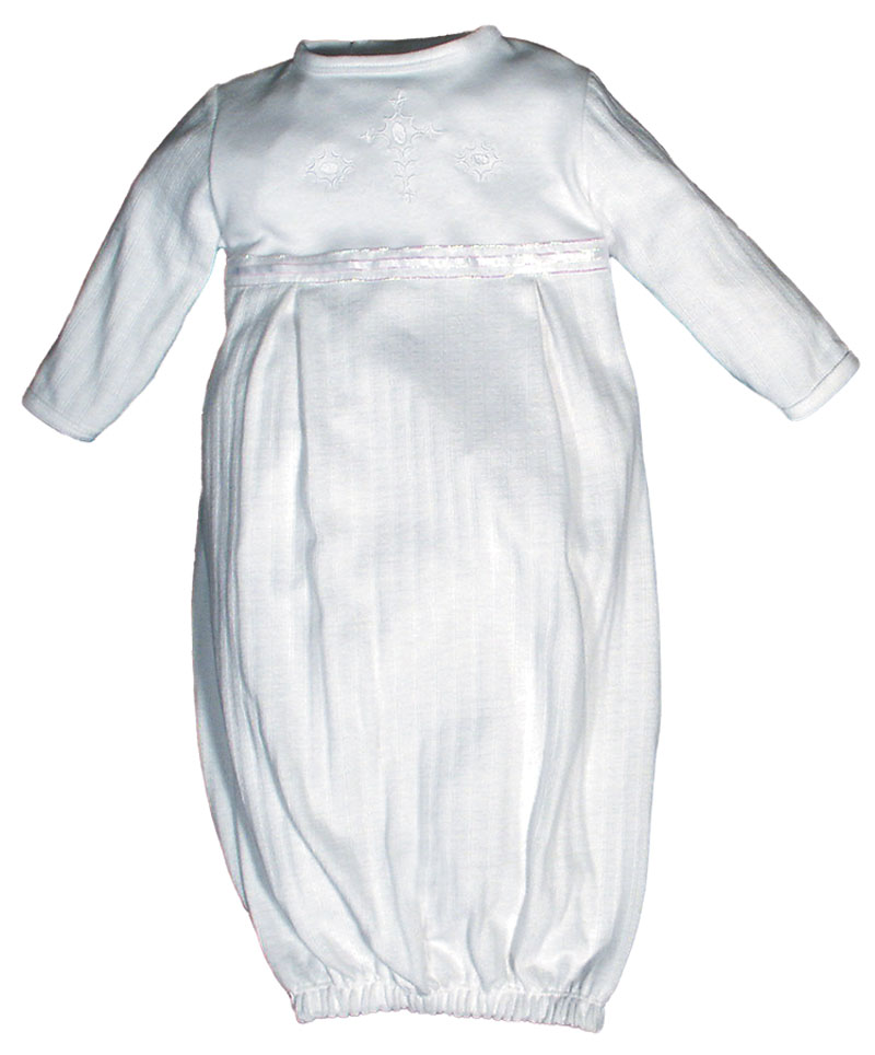 Opal Christening Unisex Party Gown