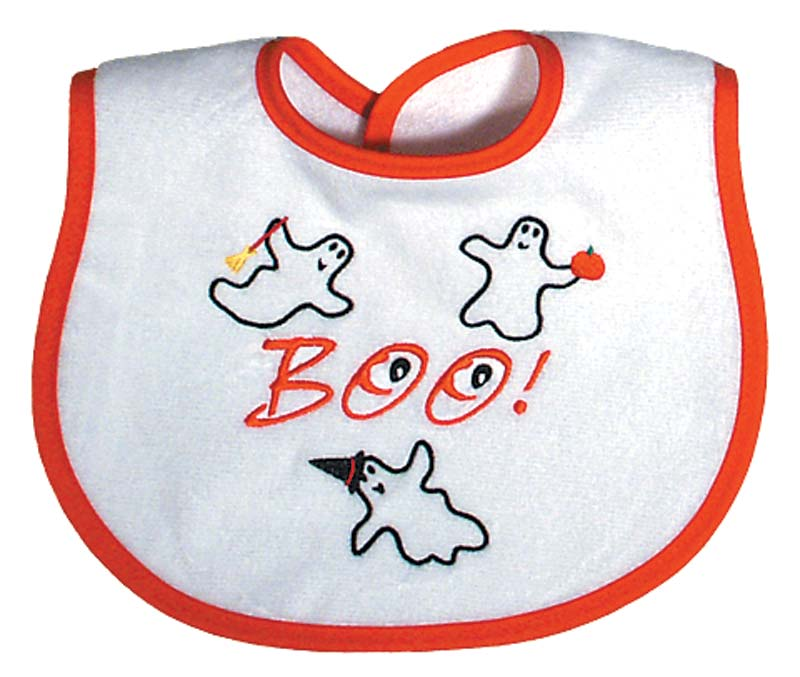 """Boo"" Unisex Bib"