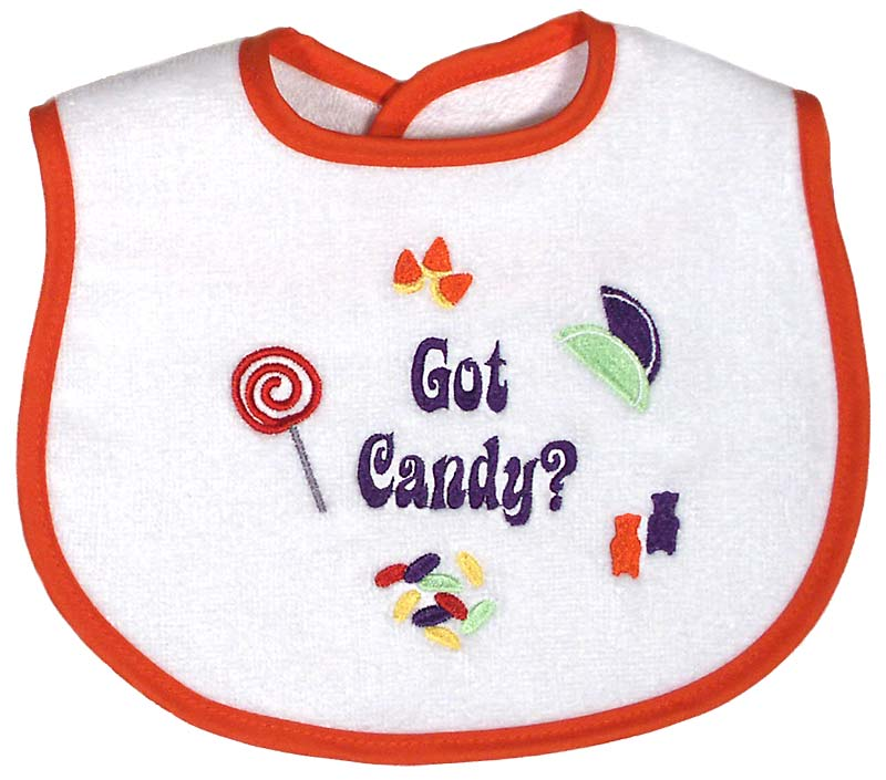 """Got Candy?"" Unisex Bib"