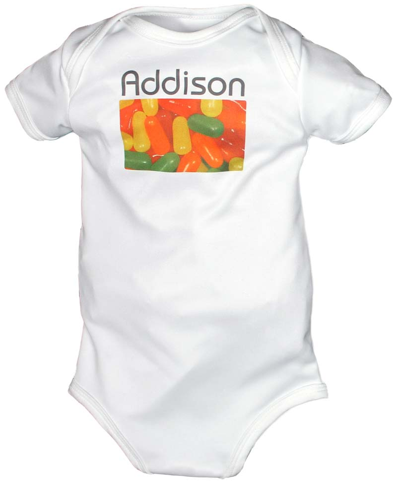Candylicious Personalized Body Suit