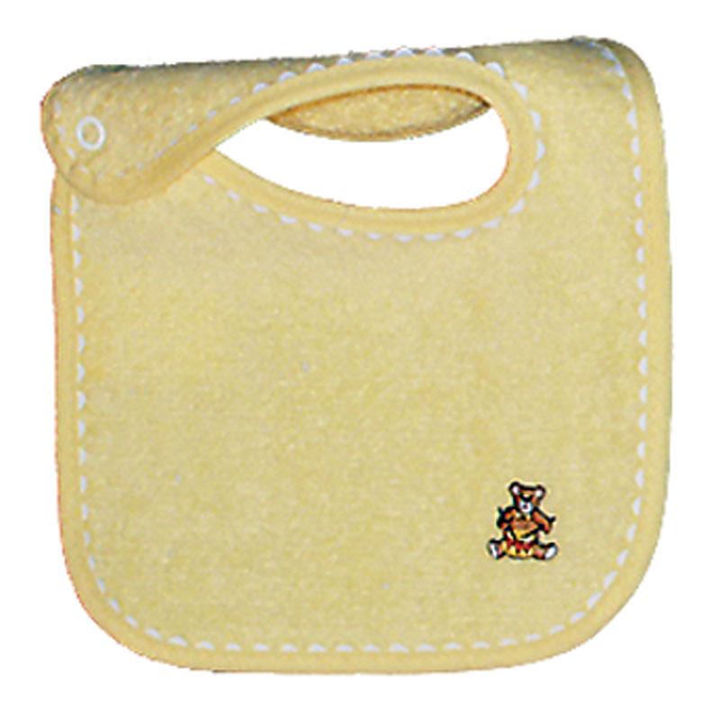 Appliqued Yellow Unisex Bib