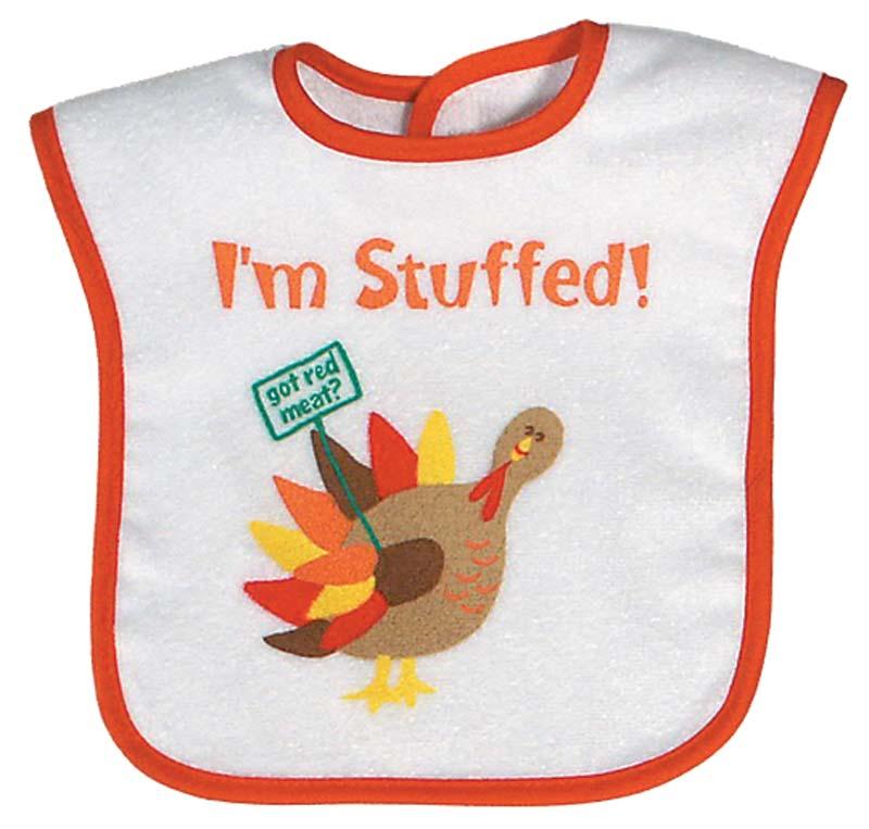 """""""I'm Stuffed"""" Unisex Bib"""
