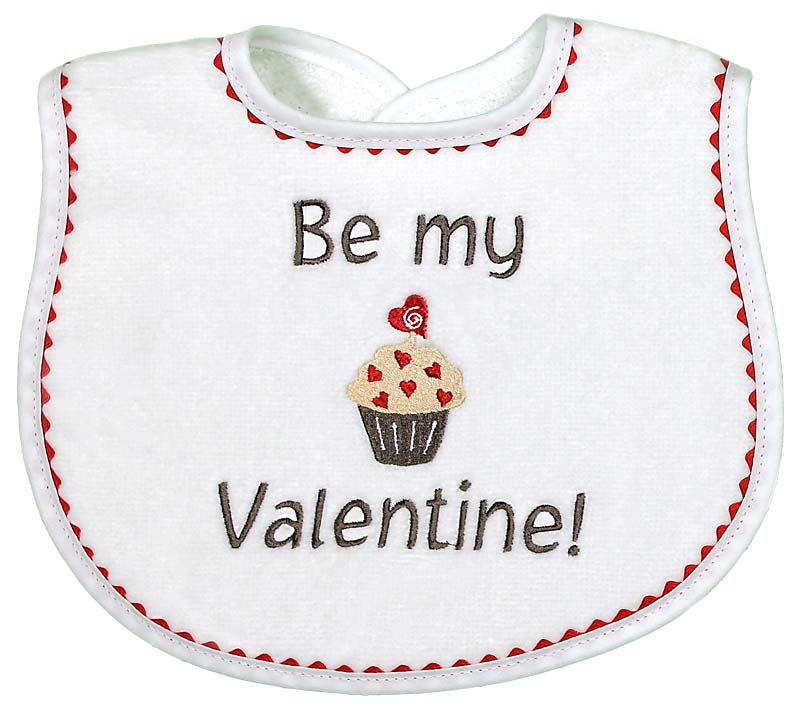 """By My Valentine"" Unisex Bib"