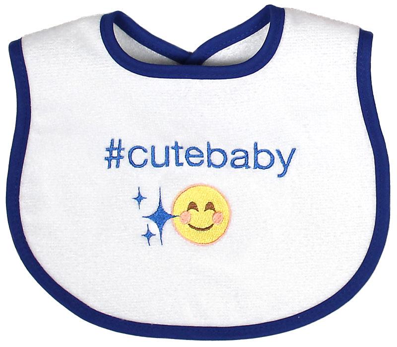 """#Cutebaby"" Unisex Bib"