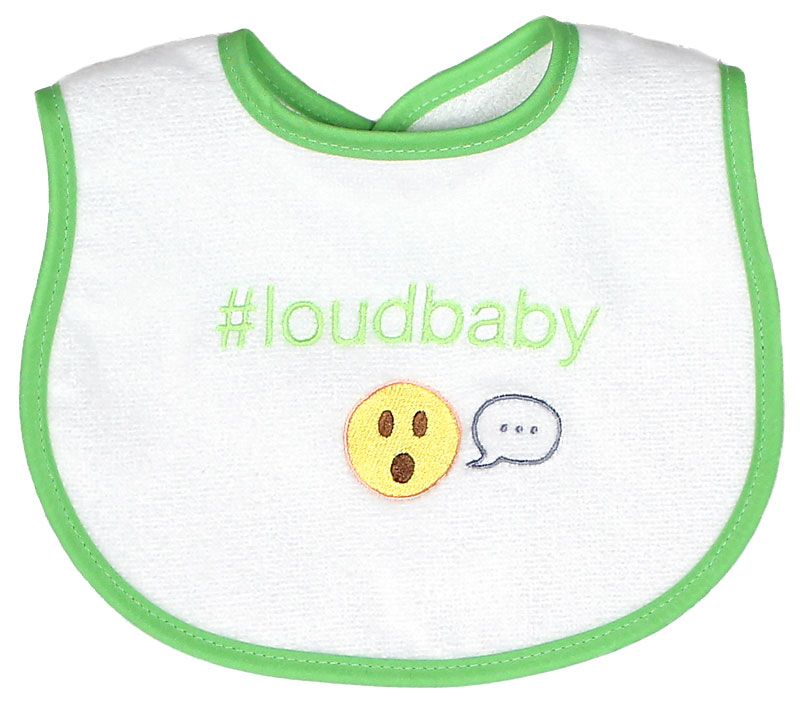 """#Loudbaby"" Unisex Bib"
