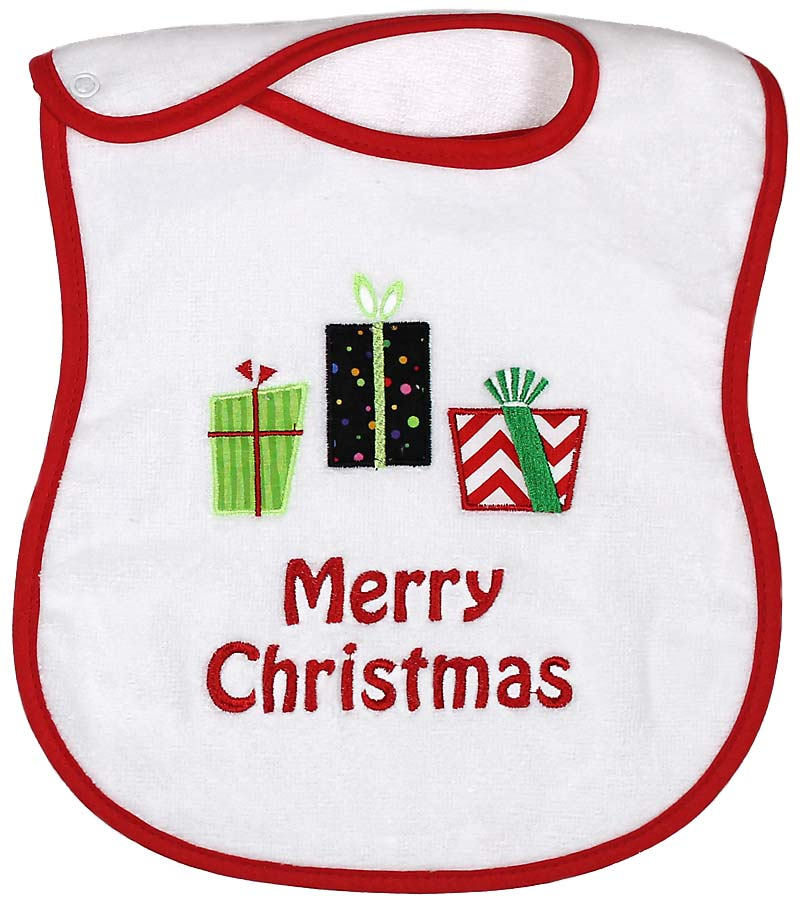 """Merry Christmas"" Bib"
