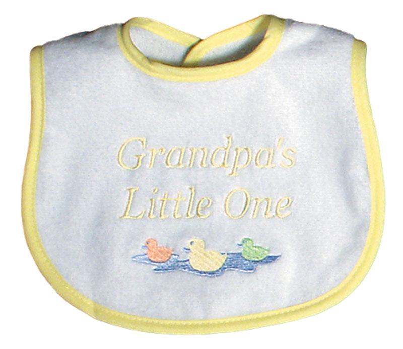 """Grandpa's Little One"" Unisex Bib"