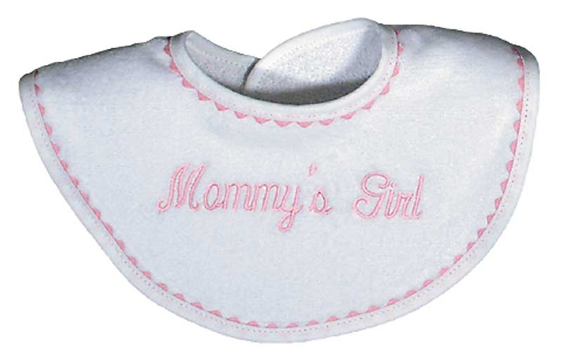 """Mommy's Girl"" Bib"