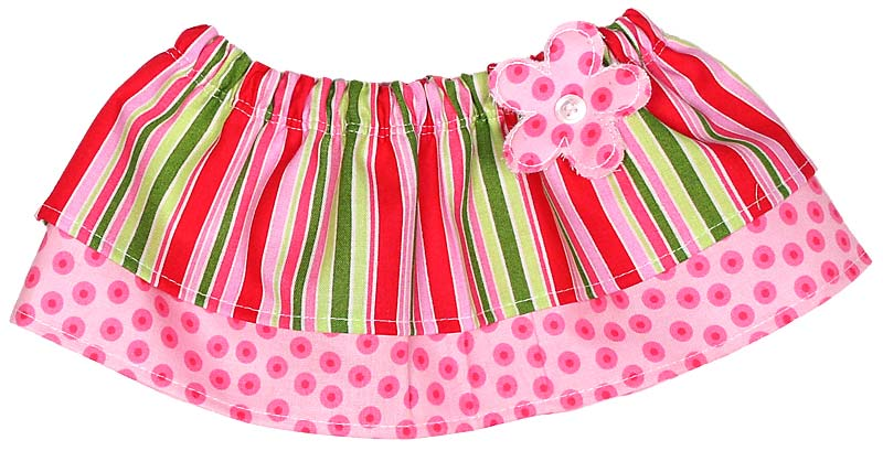 Christmas Stripe Tummy Tutu