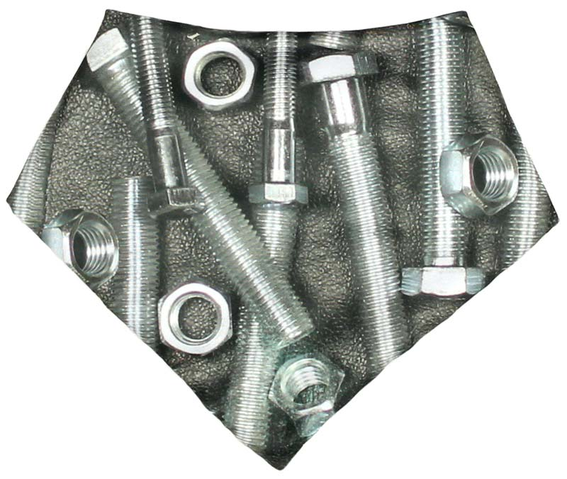 Nuts & Bolts Bandana Bib