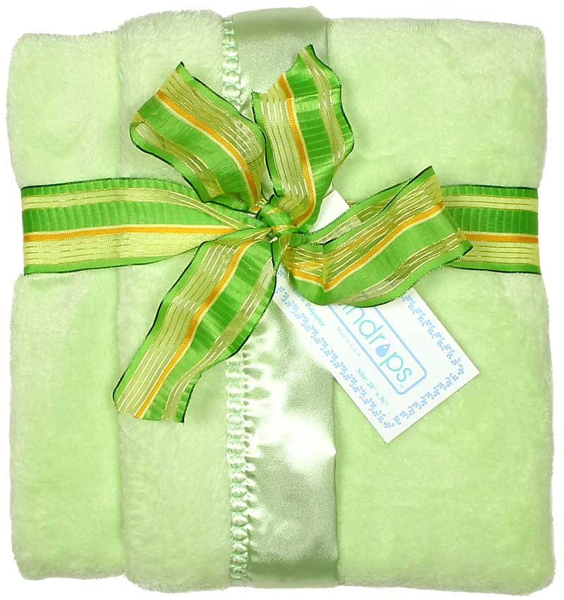 Sage Flurr Unisex Receiving Blanket