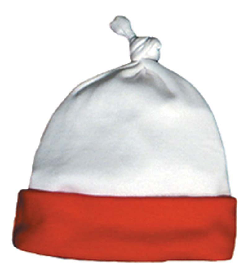 Unisex White/Red Cap