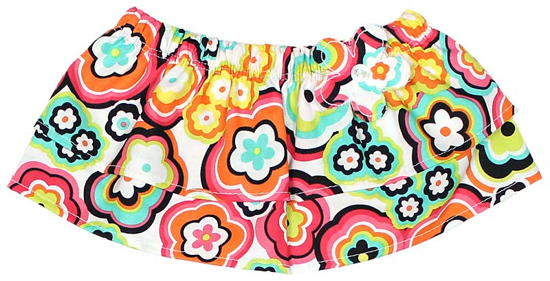Mod Flower Tummy Tutu