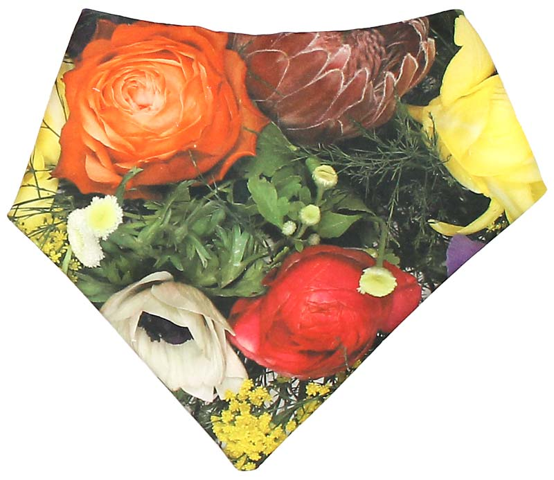 Secret Garden Bandana Bib