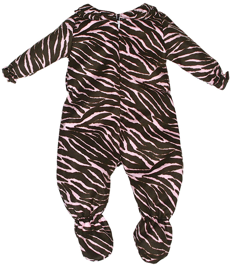 #21390 Zebra and Cheetah Girl Comfie Play Wear