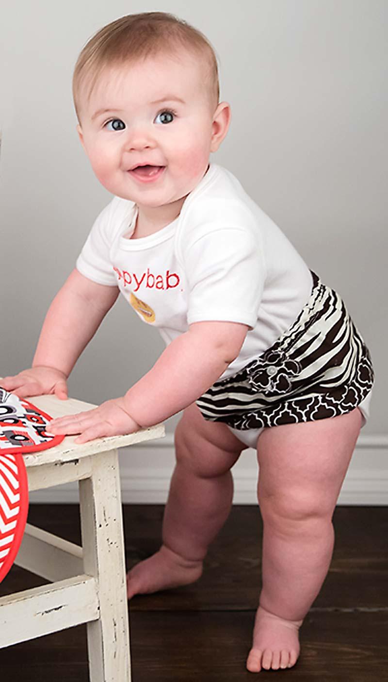 Brown Zebra Tummy Tutu