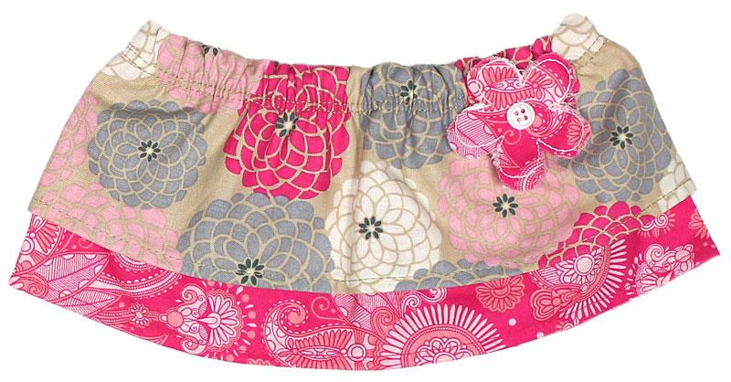 Hot Pink Flower Tummy Tutu