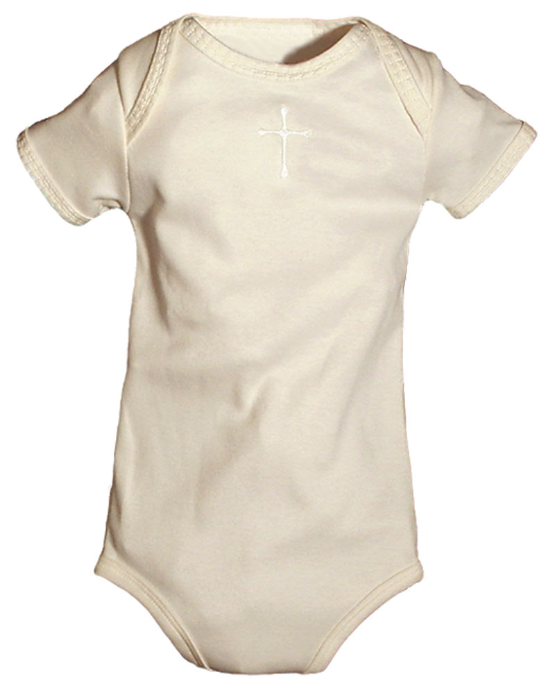 Cross Ivory Unisex Body Suit