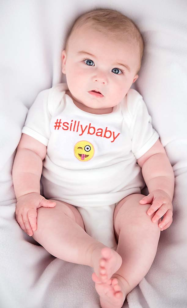 #Sillybaby Body Suit