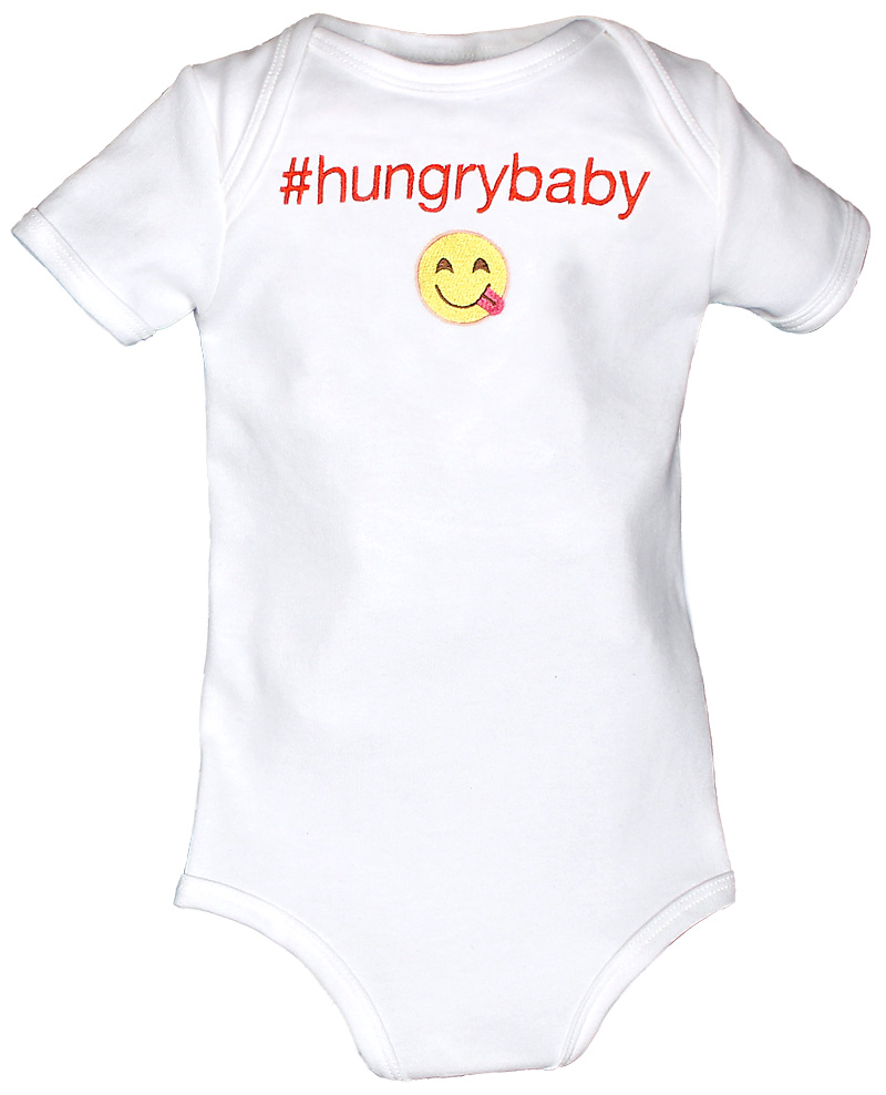 #Hungrybaby Body Suit