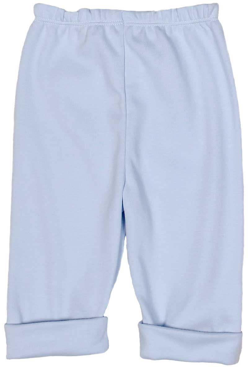 Blue Cotton Boy Pant