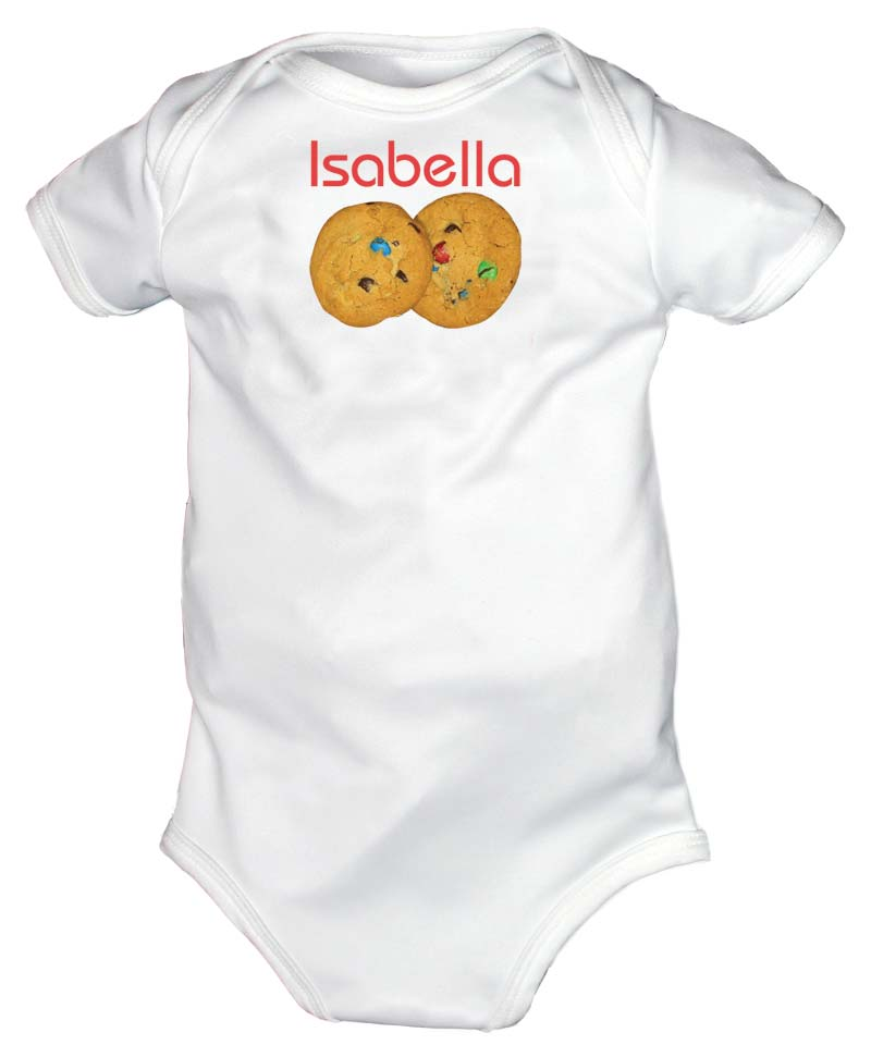 Warm Cookies Personalized Body Suit