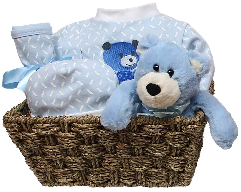 Welcome Home Baby Small Boy Gift Set