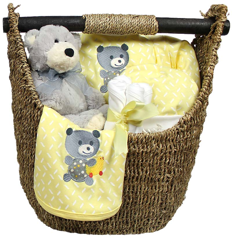 R33225 Unisex Welcome Home Baby Medium Gift Set
