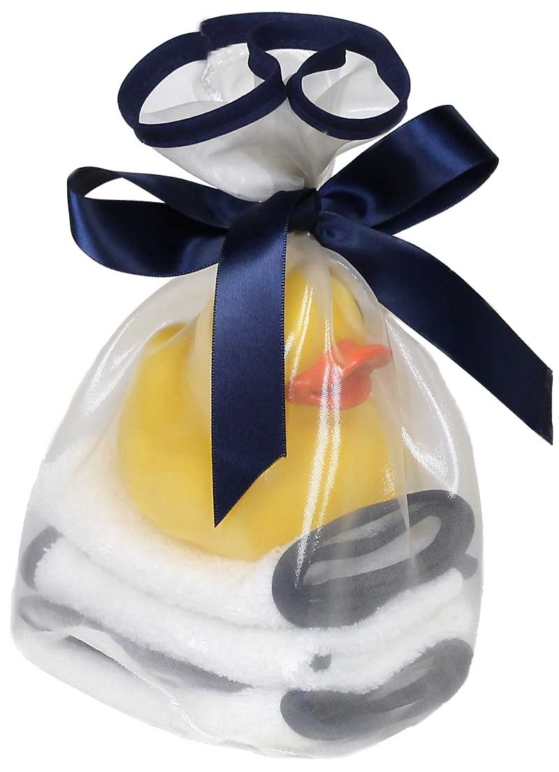 """Loved"" Blueberry Wash Cloth Gift Set"