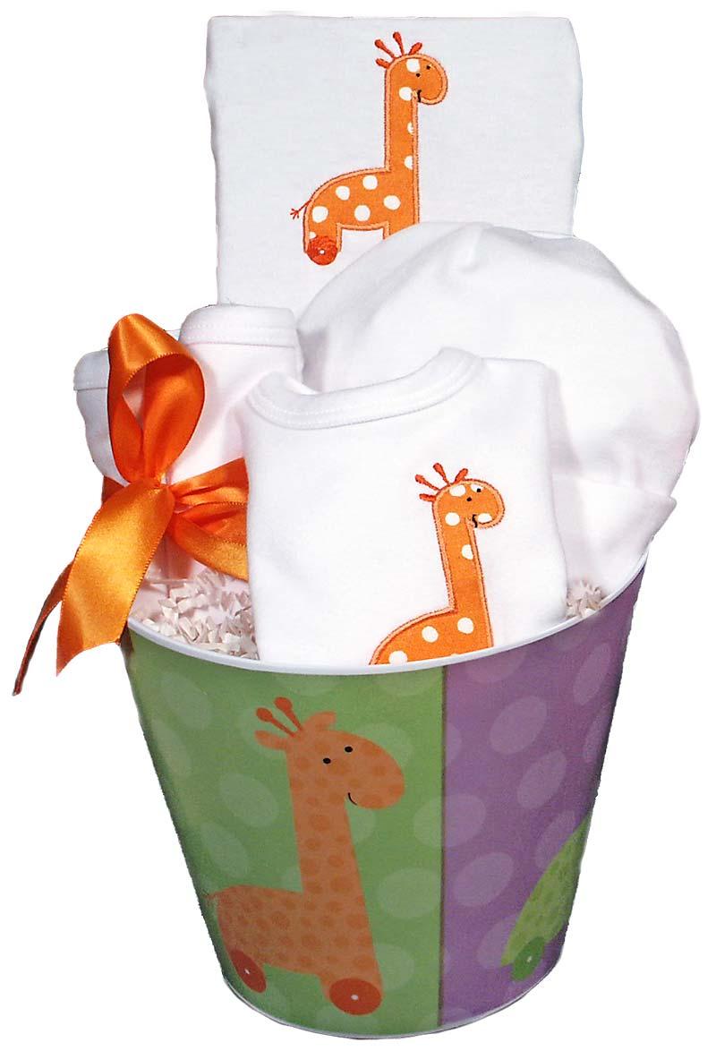 Giraffe Baby Accessory Unisex Gift Set