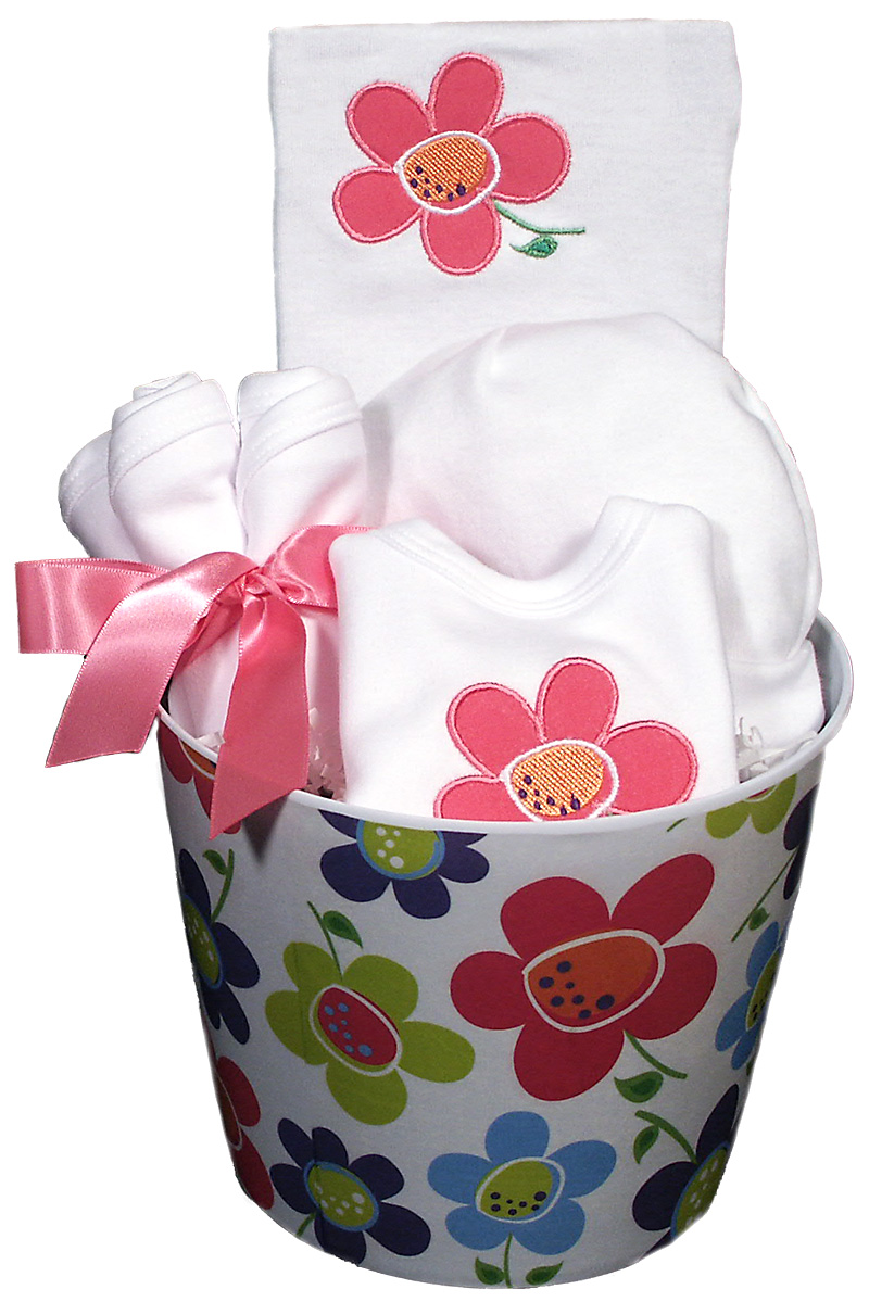 Flower Baby Accessory Girl Gift Set