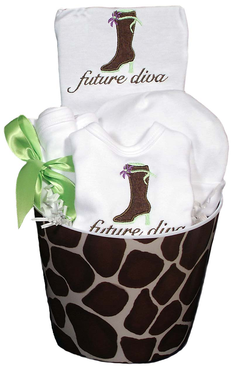 Future Diva Boot Baby Accessory Girl Gift Set