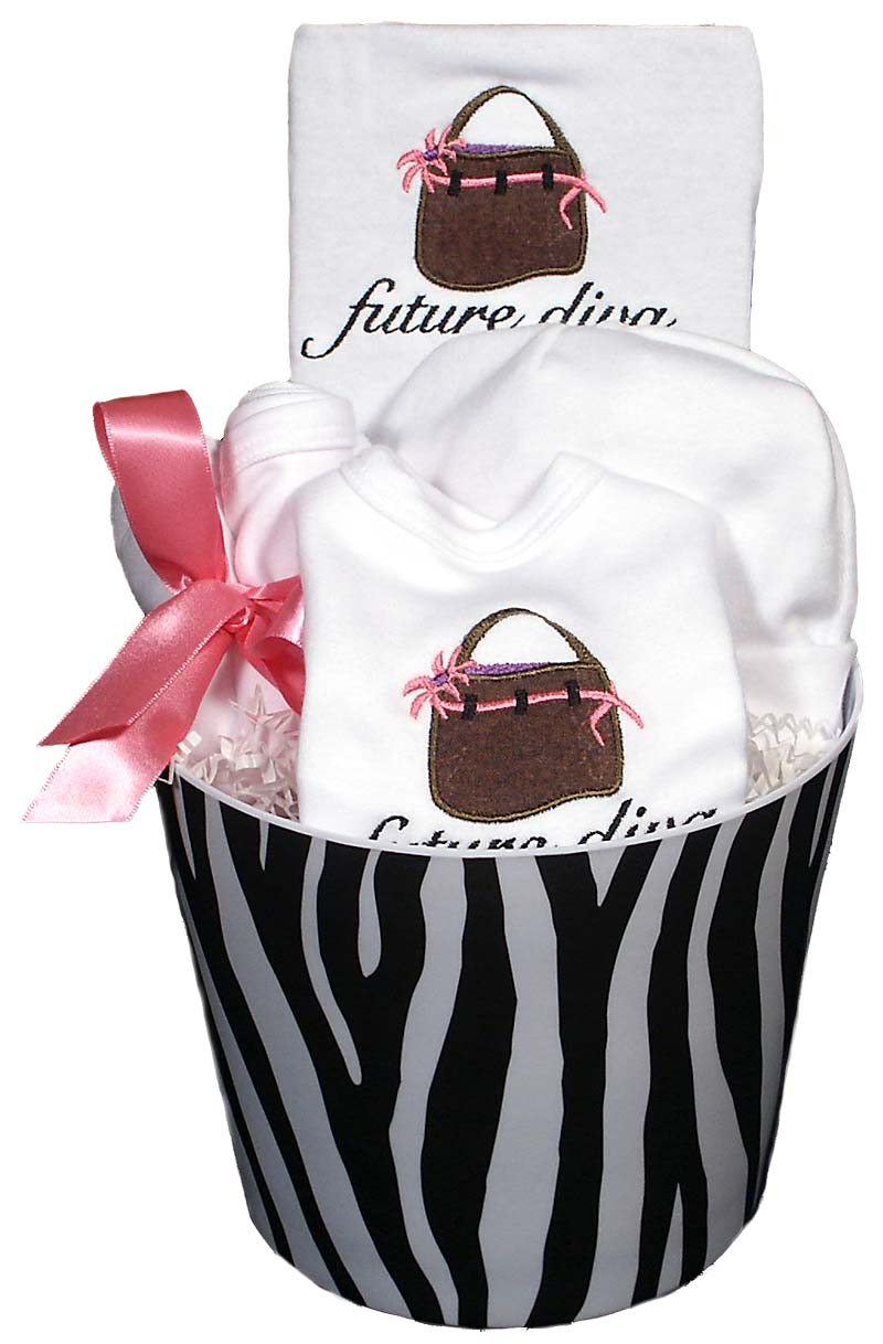 Future Diva Handbag Baby Accessory Girl Gift Set