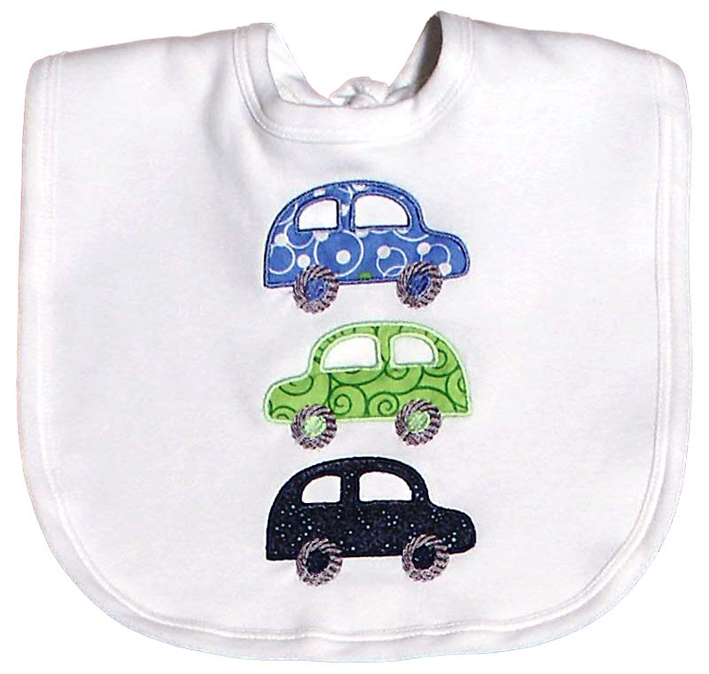 #42306 Cotton Car Bib