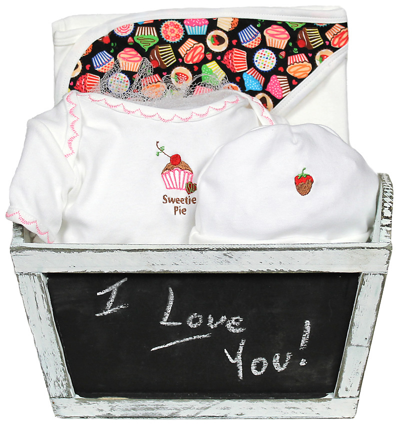 "Sweet Treats ""Sweetie Pie"" Girl Gift Set"