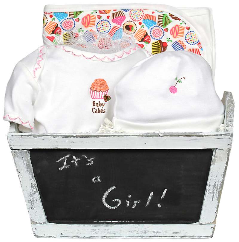 "Sweet Treats ""Baby Cakes"" Girl Gift Set"