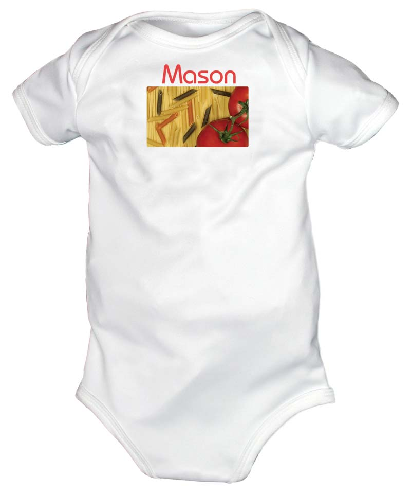 Bella Pasta Personalized Body Suit